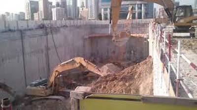 خاکبرداری - گودبرداری - خاک برداری - گود برداری