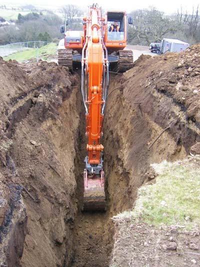 خاک برداری - خاکبرداری - گودبرداری - گود برداری